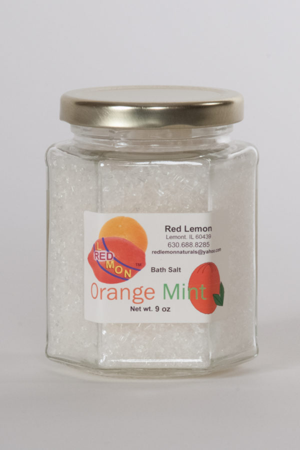 Orange Mint Bath Salt