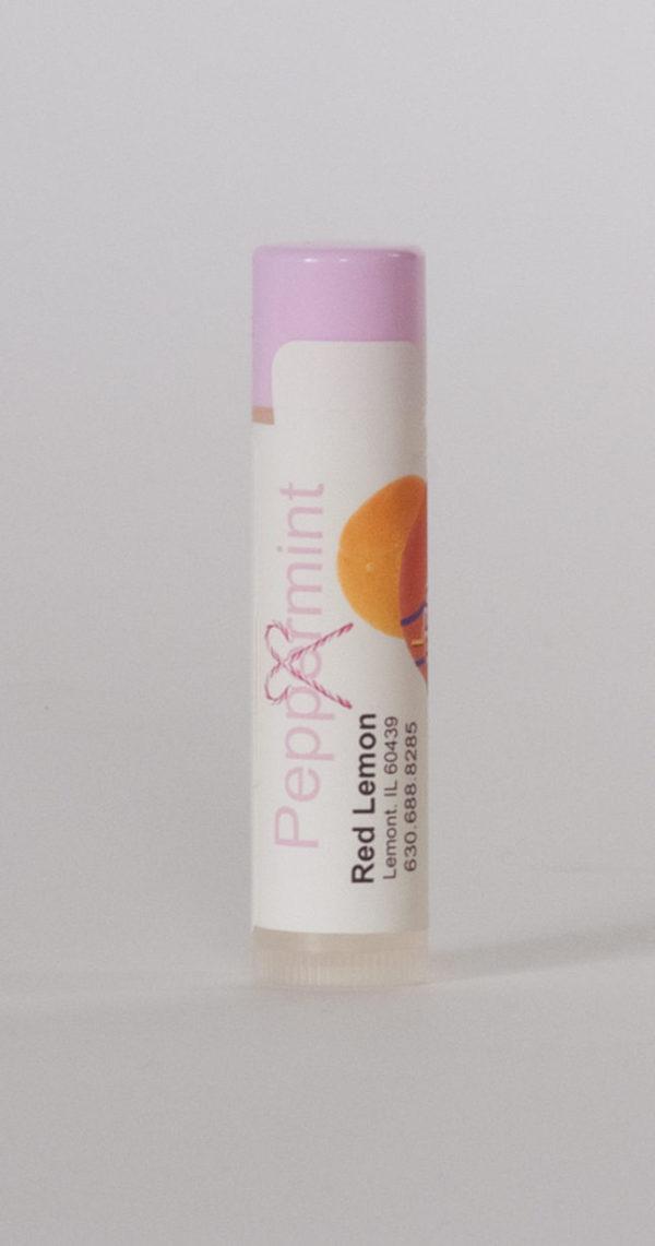 Peppermint Lip Balm Tube. Chaptick