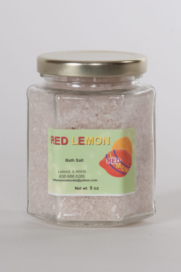 Red Lemon Bath Salt